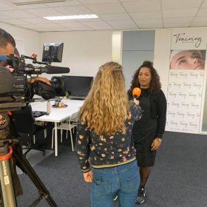 RTL Boulevard training bij Lash Level